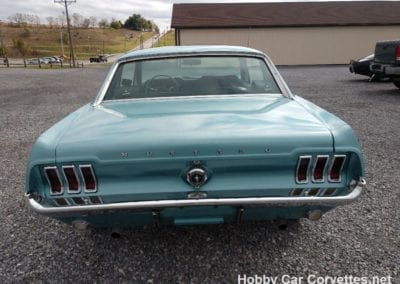 1967 Blue Mustang 289 Automatic