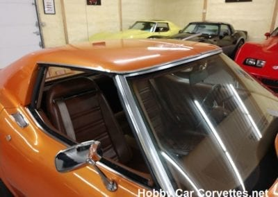1973 Atomic Orange Corvette Stingray Automatic For Sale