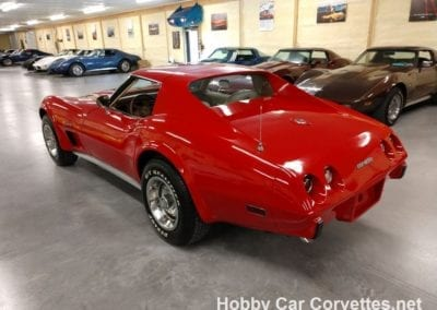 1976 Red Corvette Stingray Automatic For Sale
