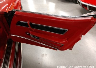 1977 Red Corvette ZZZ Crate Engine Manual Transmission T Top