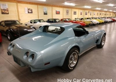 1977 Light Blue Corvette L82 4spd For Sale