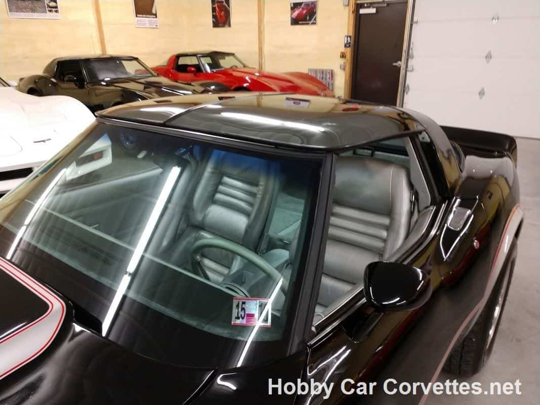 1978 Black Pace Car Corvette Automatic For Sale