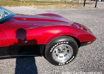 1978 Dark Red Corvette L82 T Top