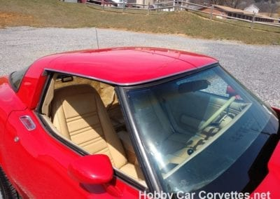 1978 Red Corvette Four Speed Manual For Sale
