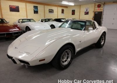 1979 White White Corvette T Top For Sale