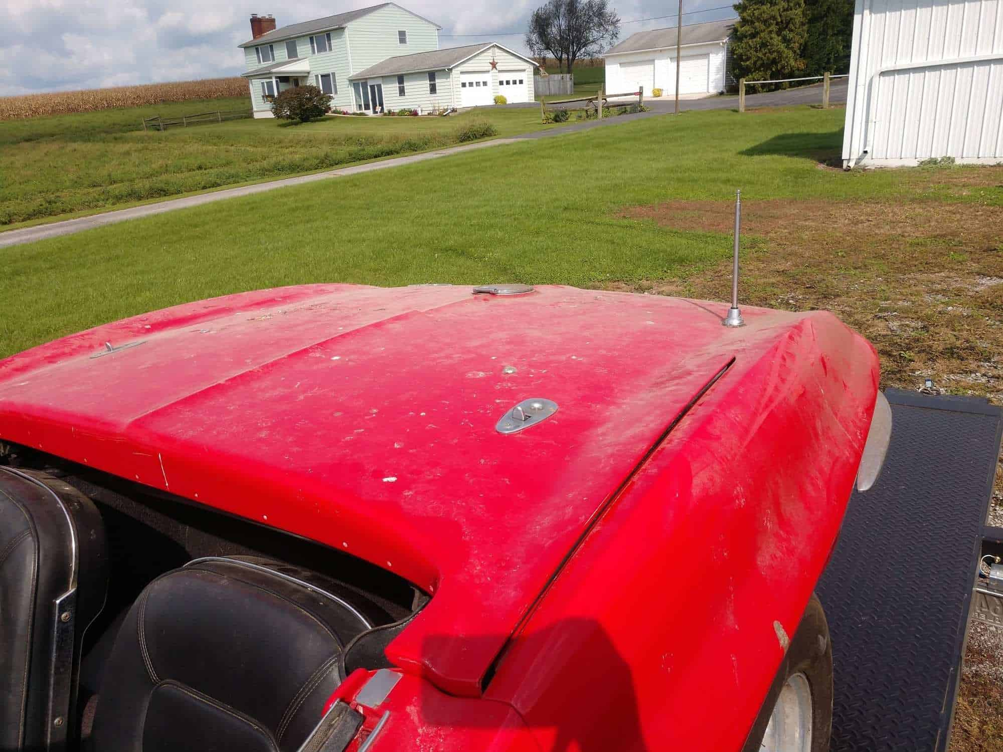 1966 Red Corvette Convertible Four Speed For Sale