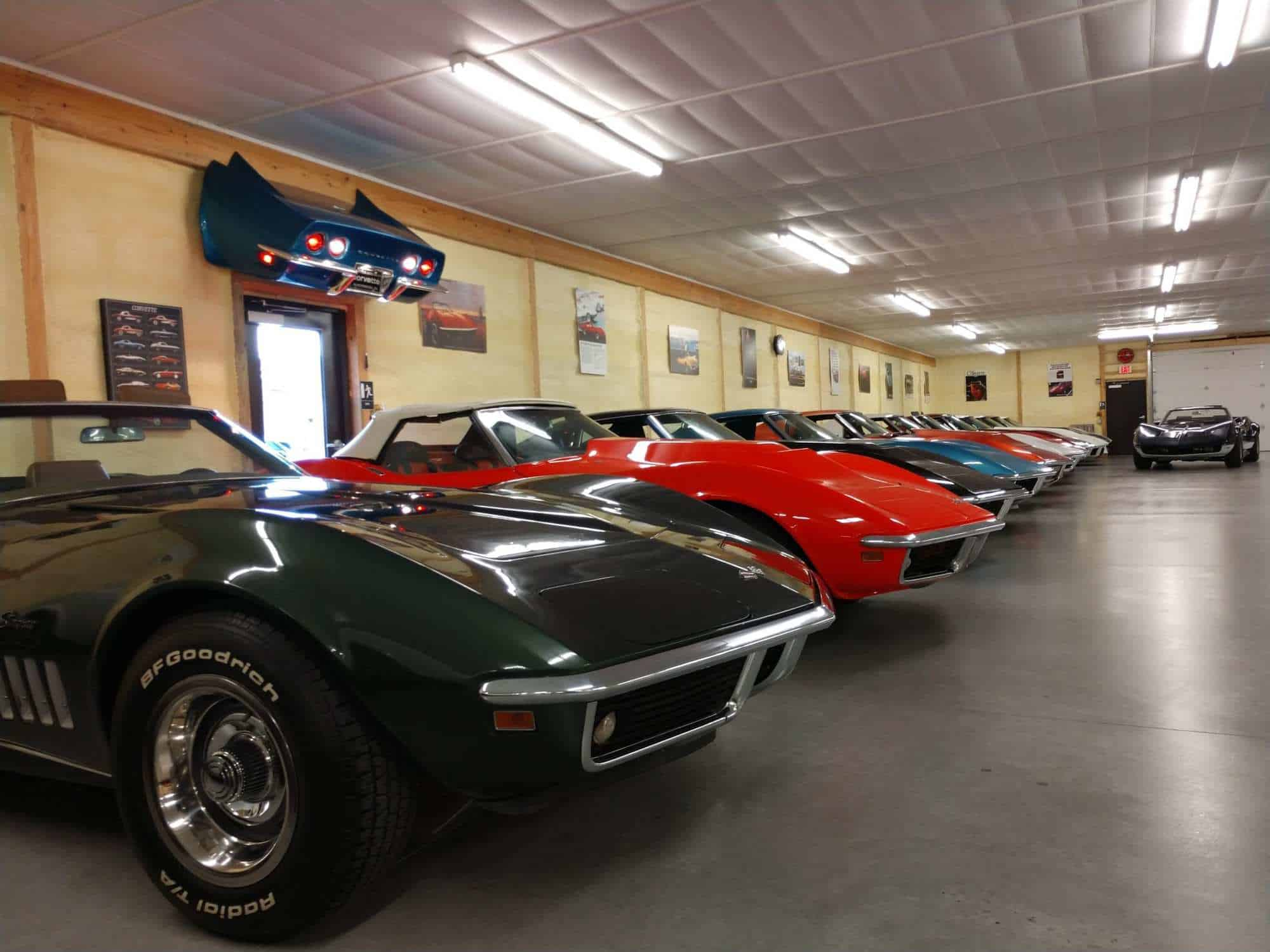 Hobby Car Corvettes Showroom Floor
